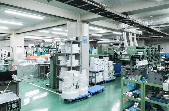 多種多様な印刷機・設備を導入し幅広い技術を実現